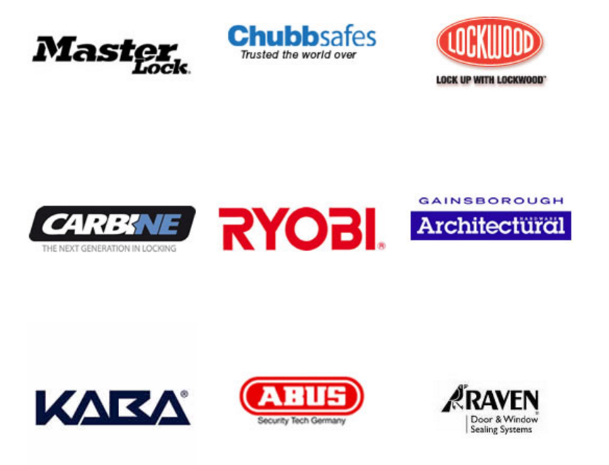 Perth locksmith Fort Locks sells and recommends these brands