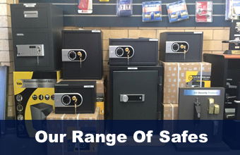 View our complete range of safes at Fort Locks - Perth locksmiths