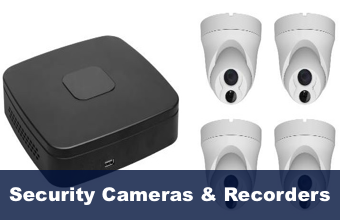 Perth Locksmith Fort Locks carries a complete range of security cameras, CCTV and recorders.